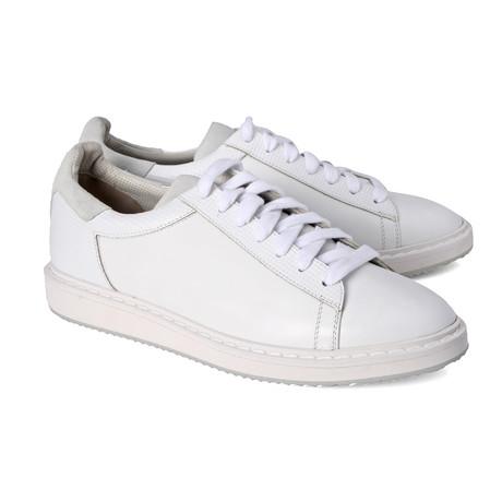 Baldini Contrast Sneaker // White