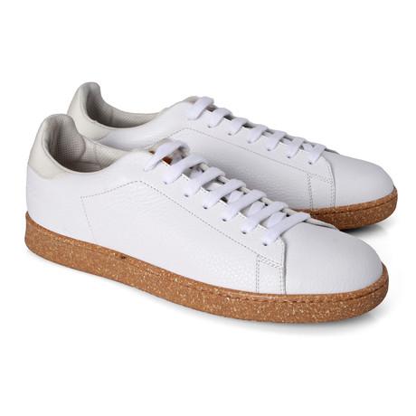 Valeriano Contrast Sneaker // White (Euro: 39)