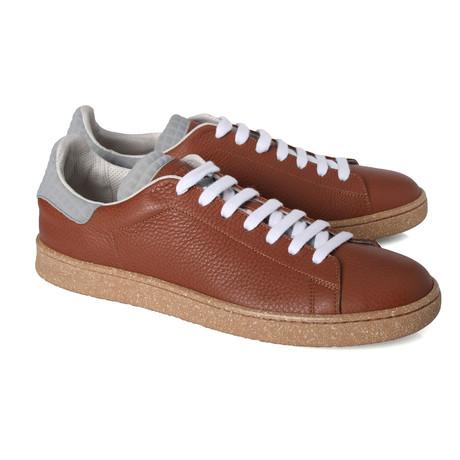 Ciabattoni Contrast Sneaker // Brown (Euro: 39)
