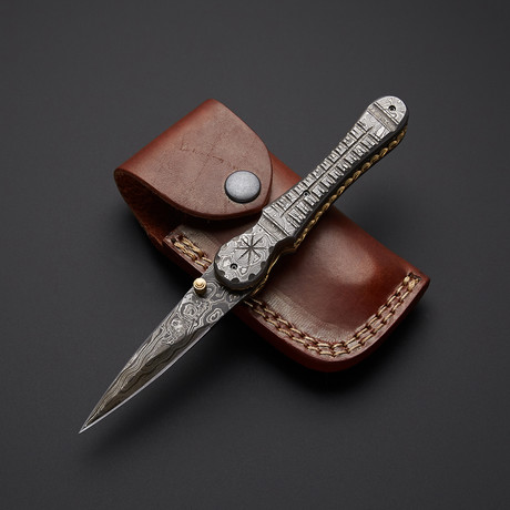 Stiletto Dagger Folding Knife