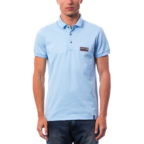 Salvestro Polo Shirt // Sky