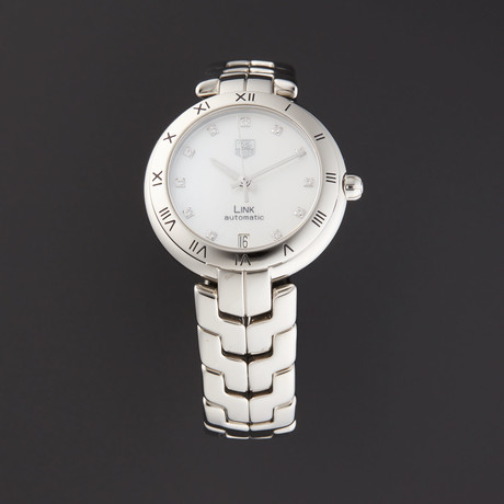 Tag Heuer Link Automatic // WAT2315.BA0956 // Store Display