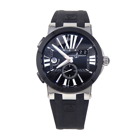 Ulysse Nardin Executive Dual Time Automatic // 24300342 // Pre-Owned