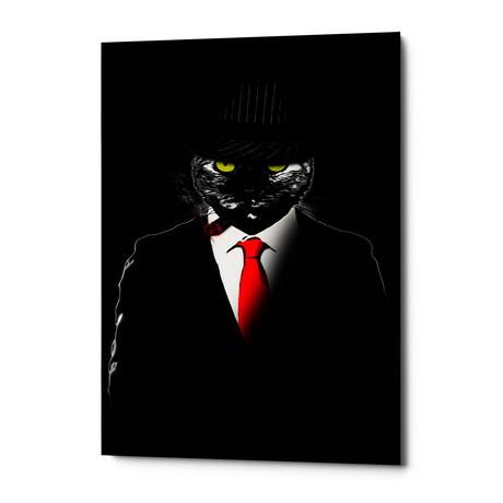 "Mobster Cat (18""W x 26""H x 0.75""D)"