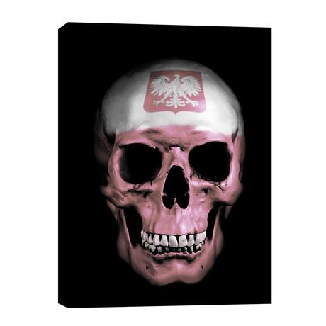 """Polish Skull (12""""W x 16""""H x 0.75""""D)"""