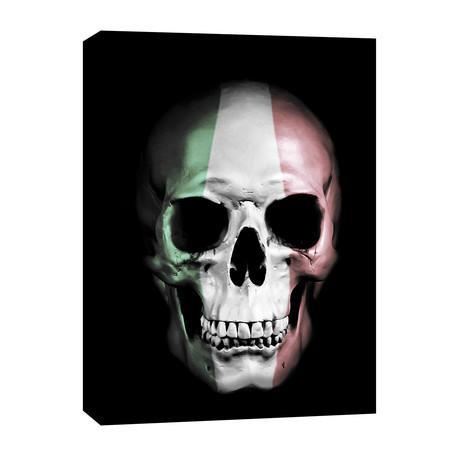 """Italian Skull (12""""W x 16""""H x 0.75""""D)"""