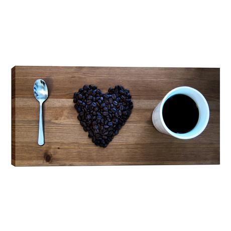 "I Love Coffee (12""W x 24""H x 0.75""D)"