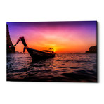"Longtail Sunset (26""W x 18""H x 0.75""D)"