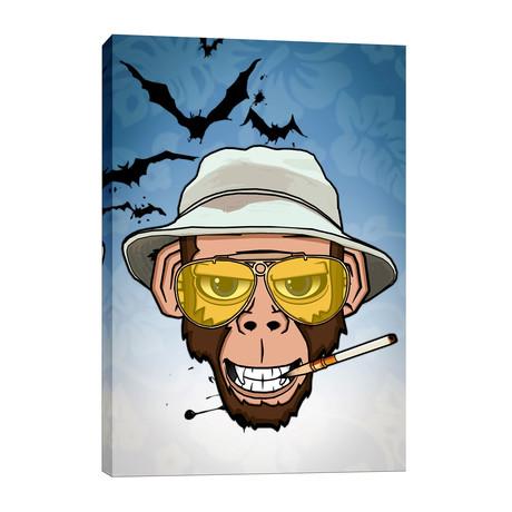 """Monkey Business In Las Vegas (12""""W x 18""""H x 0.75""""D)"""