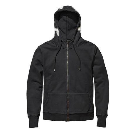 Saint Number 1 Vintage Hood // Black (XS)
