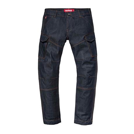 Works Cargo Jeans // Indigo (28WX30L)