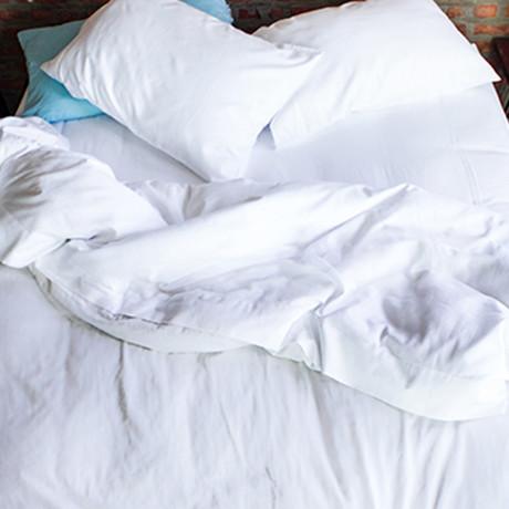 Cooling Duvet Cover // White