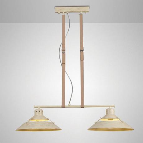 Lyon Twin Kitchen Pendant Lamp (Black)