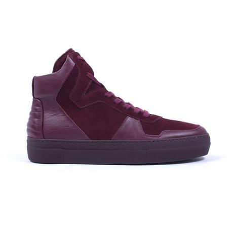 Neptune Vivel Sneakers // Burgundy (US: 7)