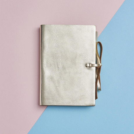 Leather Notebook // Gold (Gold)