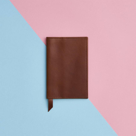 Leather Passport Cover // Dark Tan (Dark Tan)
