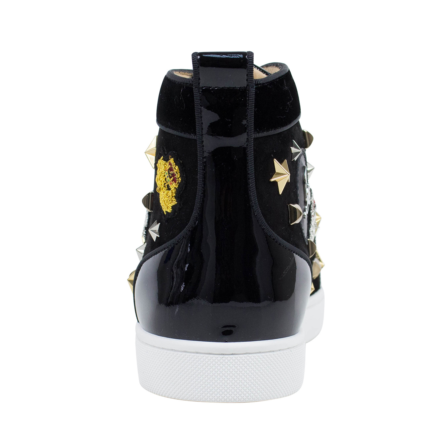 bd873970b5b Loubacademia Hi-Top Sneakers // Black (US: 6) - Christian Louboutin ...