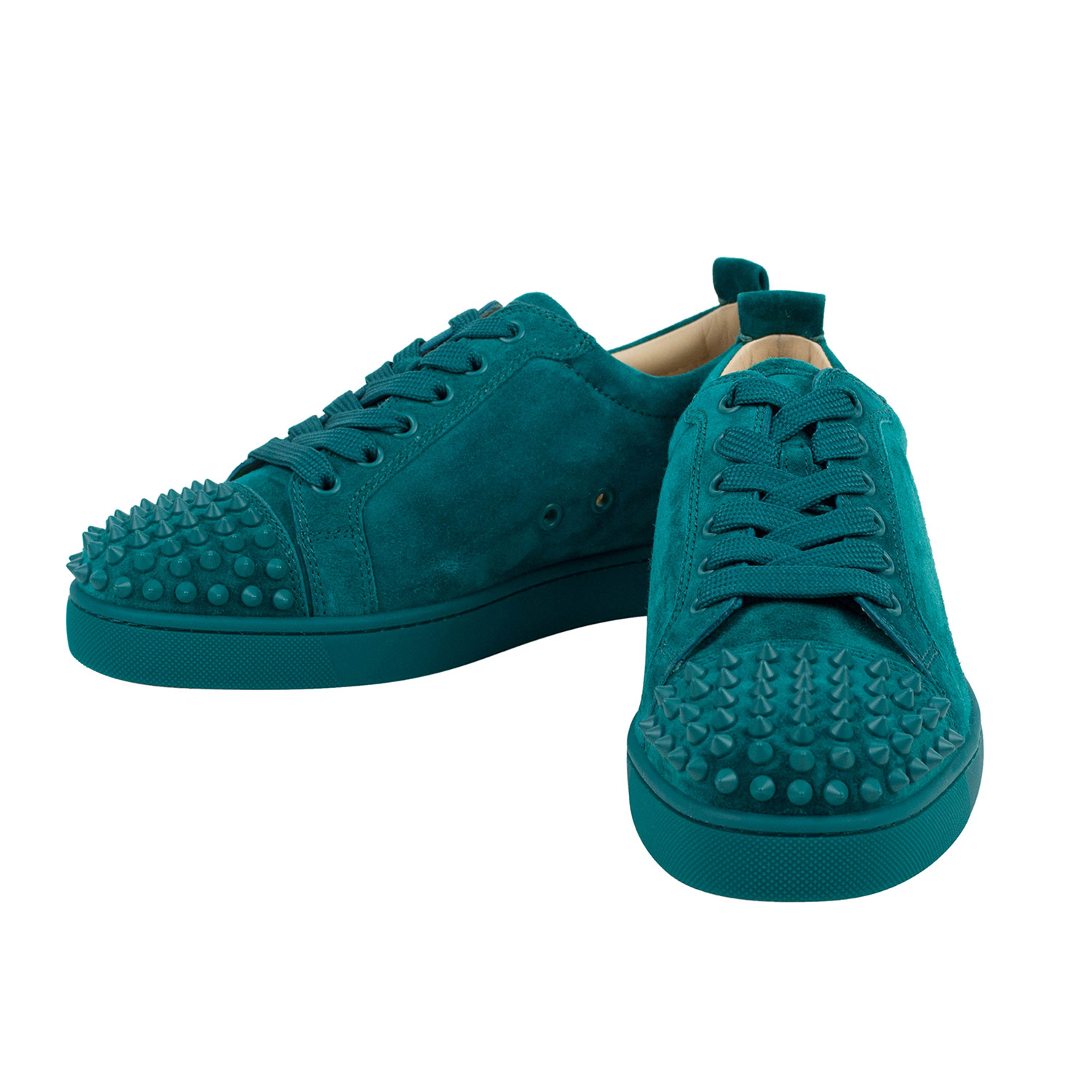 brand new 2fd2d b6891 Louis Junior Spikes Suede Low-Top Sneakers // Green (US: 6 ...