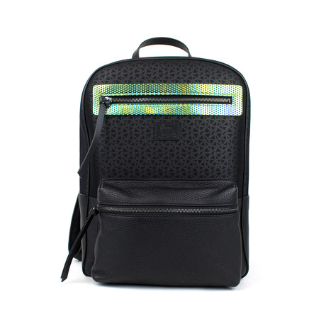 Aliosha Backpack // Black + White