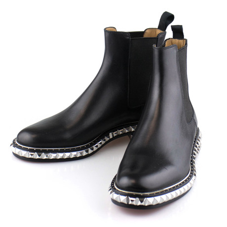 Men's // Leather Orion Flat Calf Brosse Boots // Black (Euro: 40)