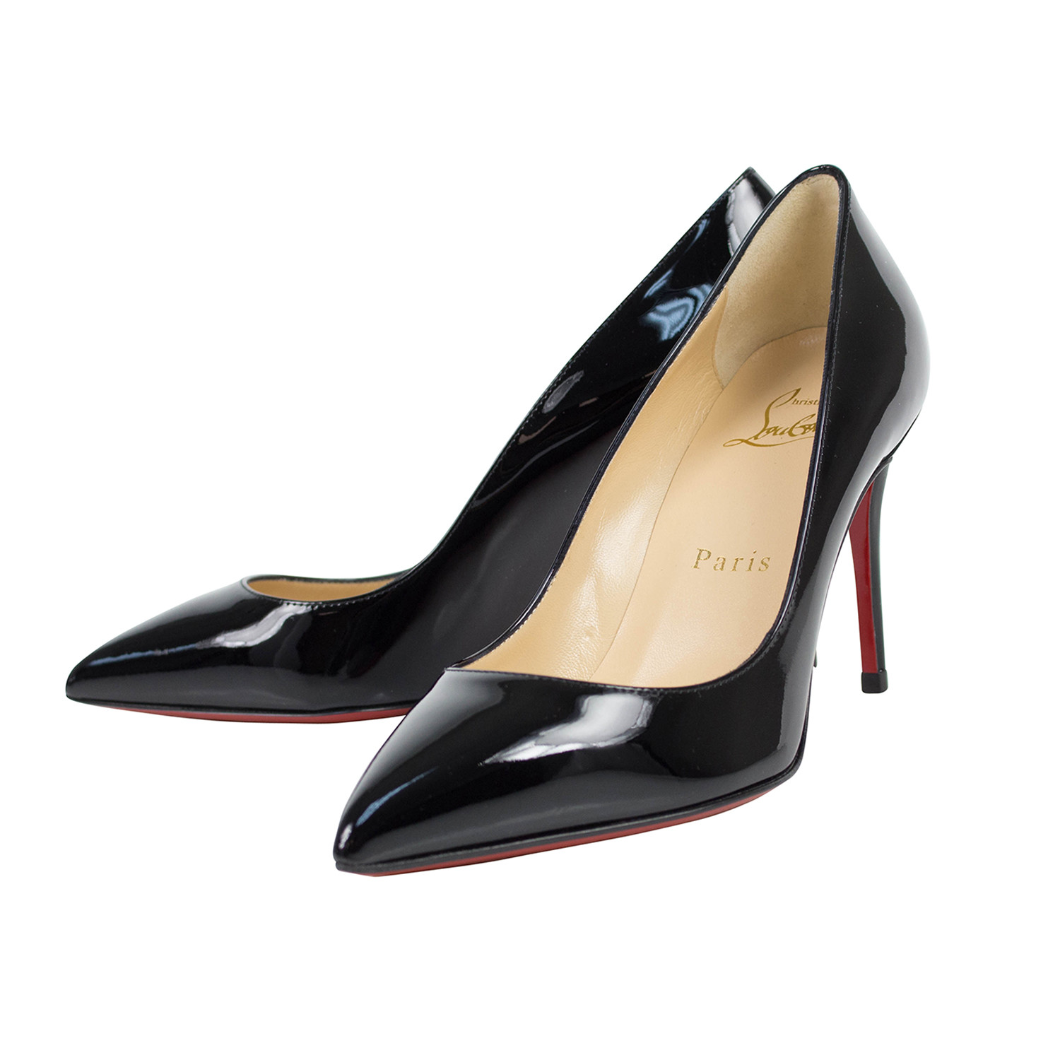 huge discount c1a94 c61f3 Pigalle Follies Patent Leather 85mm Pumps // Black (Euro: 34 ...