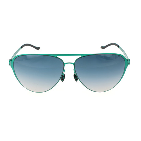 Men's M1040 Sunglasses // Green + Blue