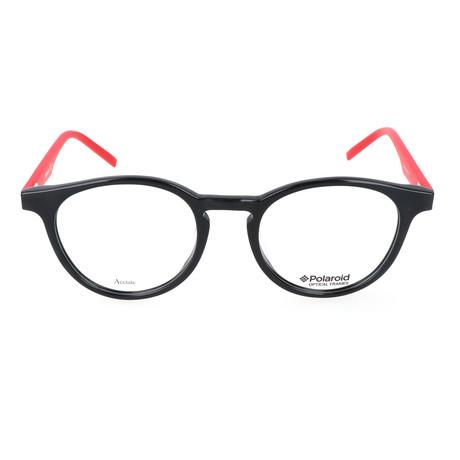 Men's PLD D304-1Q4 // Black + Red