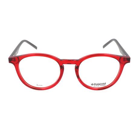 Men's PLD D304-1R7 // Red + Gray