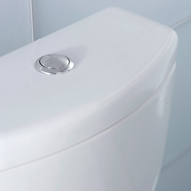 TOTO Aquia II Dual Flush Two-Piece Toilet, 1.6 GPF & 0.9 GPF ...