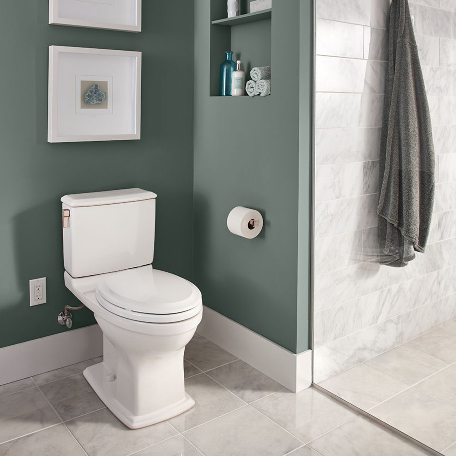 TOTO Connelly Two-Piece Toilet with Dual Tornado Flush System ...