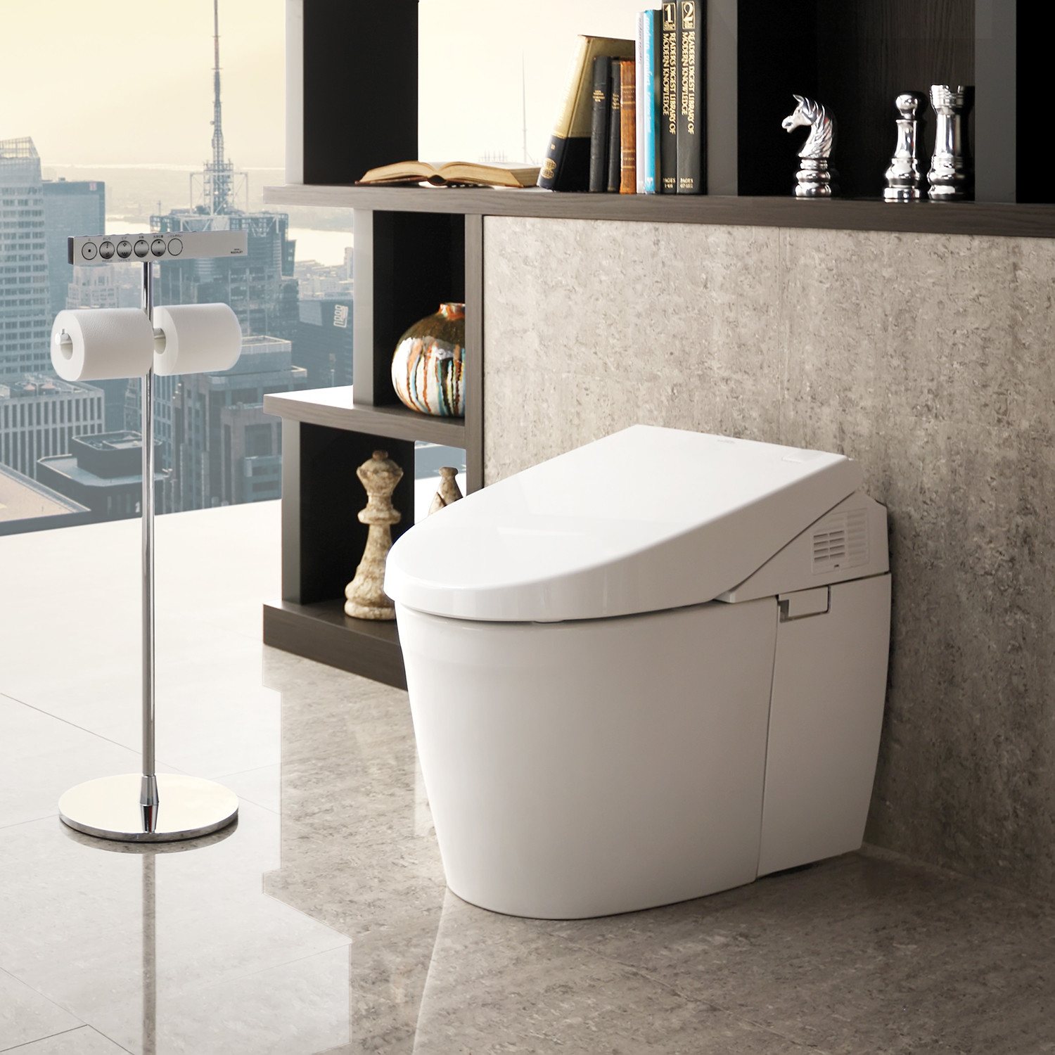 Toto Neorest 550h Dual Flush Ewater Smart Toilet With