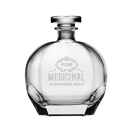 Luigi Bormioli Puccini Collection // Medical Purposes Decanter