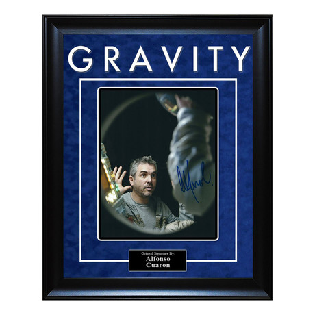 Signed Artist Series // Gravity // Alfonso Cuaron