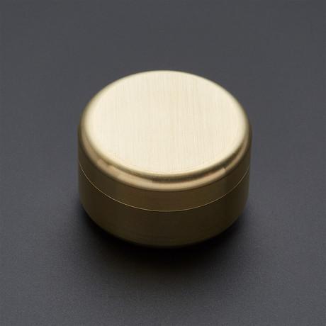 Brass Screw Top Pill Box