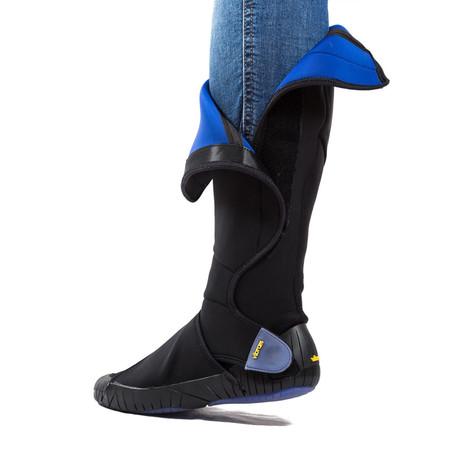 Furoshiki Neoprene High // Black + Blue