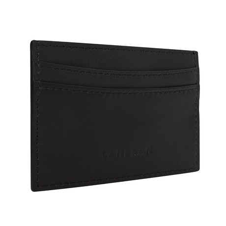 Leather Cardholder // Black