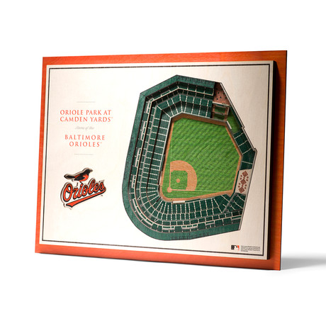 Baltimore Orioles // Oriole Park at Camden Yards // 5-Layer