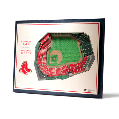 Boston Red Sox // Fenway Park // 5-Layer