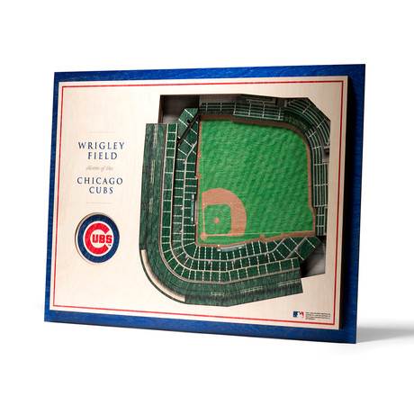 Chicago Cubs // Wrigley Field // 5-Layer