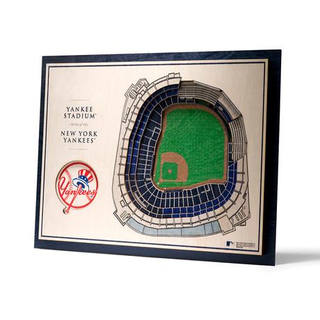 New York Yankees // Yankee Stadium Wall Art (5-Layer)