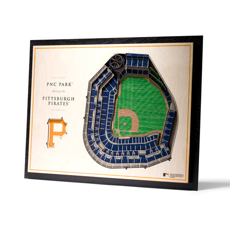 Pittsburgh Pirates // PNC Park // 5-Layer