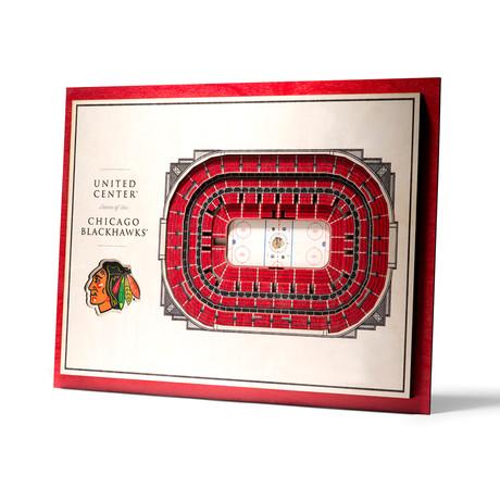 Chicago Blackhawks // United Center (5-Layer)