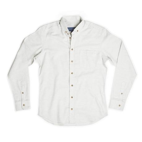 Brixton Flannel Shirt // Oatmeal