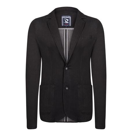 Smith Spring Blazer Jacket // Black (L)