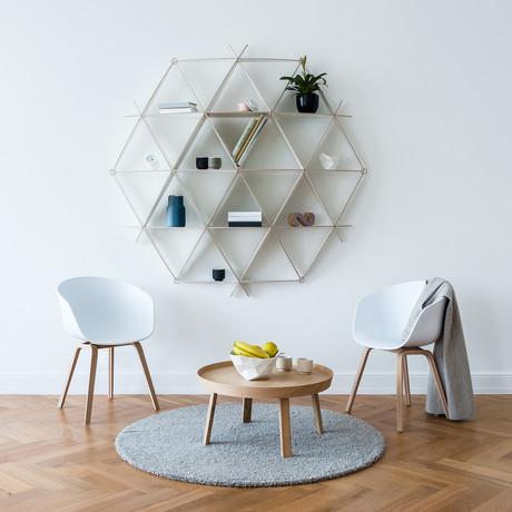 Bookshelf Comb // White (Mini)