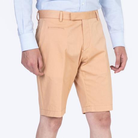Vice Cotton Shorts // Peach