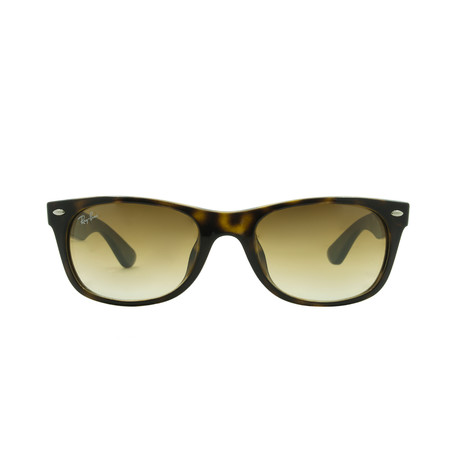 New Wayfarer // Light Havana + Brown Gradient