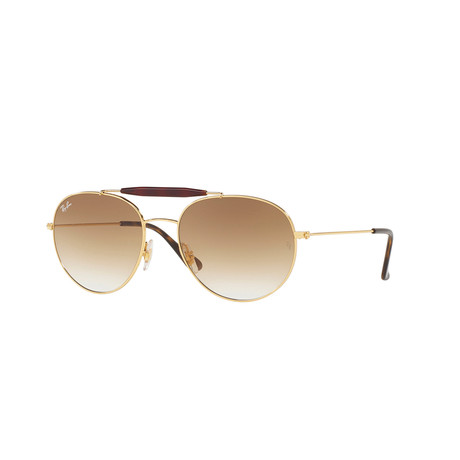 RB3540 // Gold + Brown