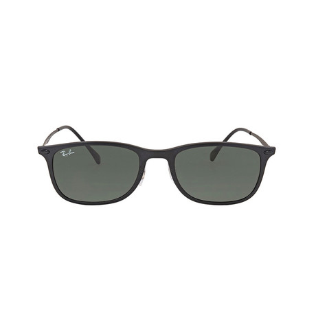 Ray-Ban // RB4225 Sunglasses // Matte Black + Green