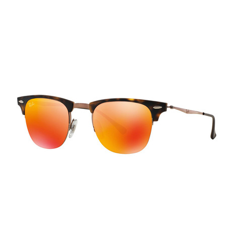 RB8056 // Tortoise Gold + Red Mirror